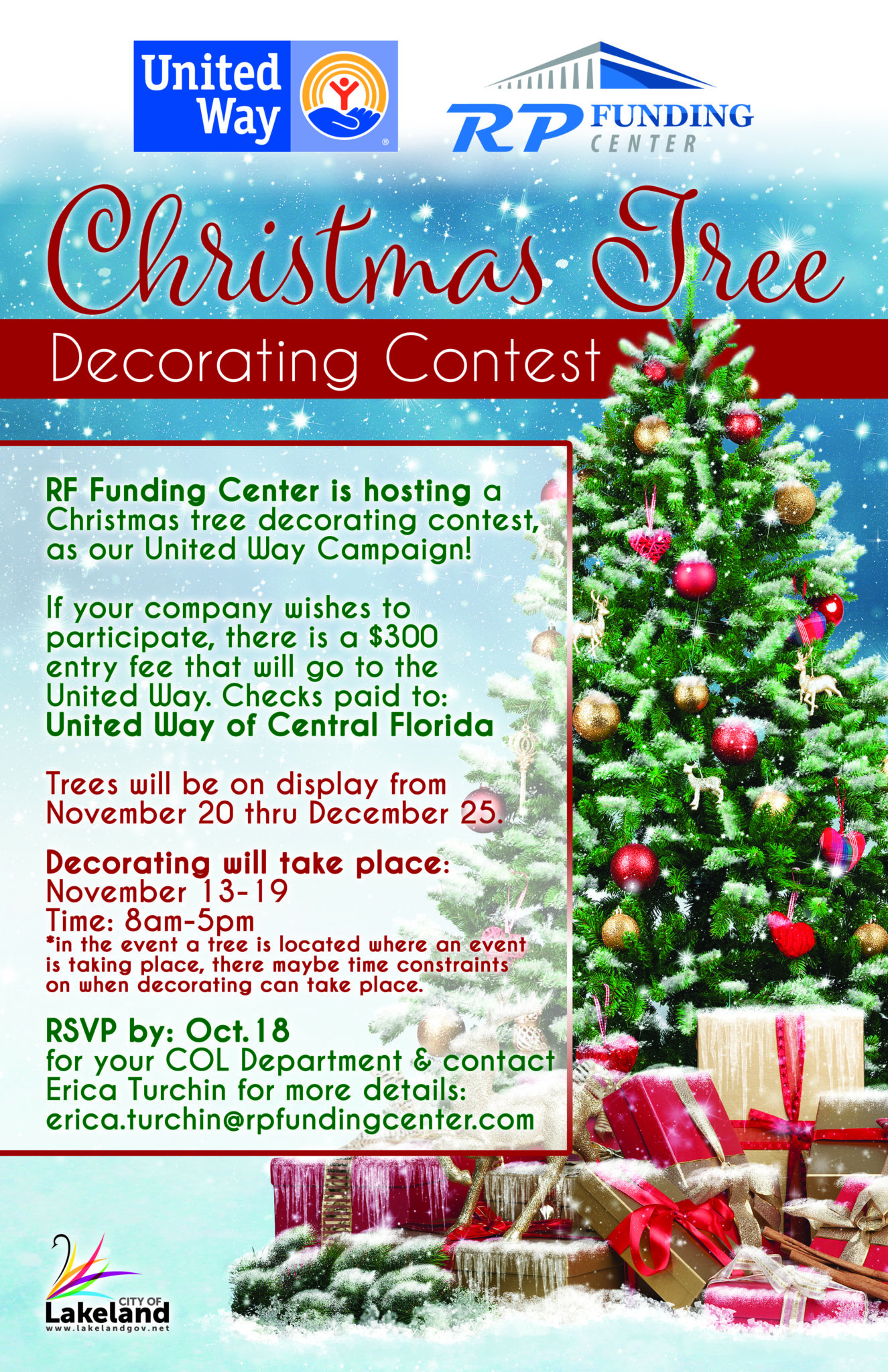 Christmas Tree Decorating Contest – United Way of Central ...