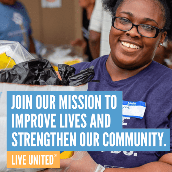 Join our mission to improve lives and strengthen our community
