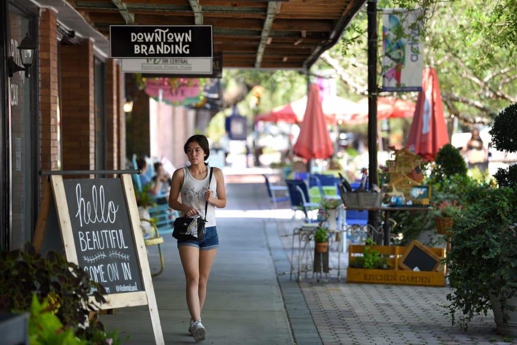 Downtown Bartown, Polk County Unites
