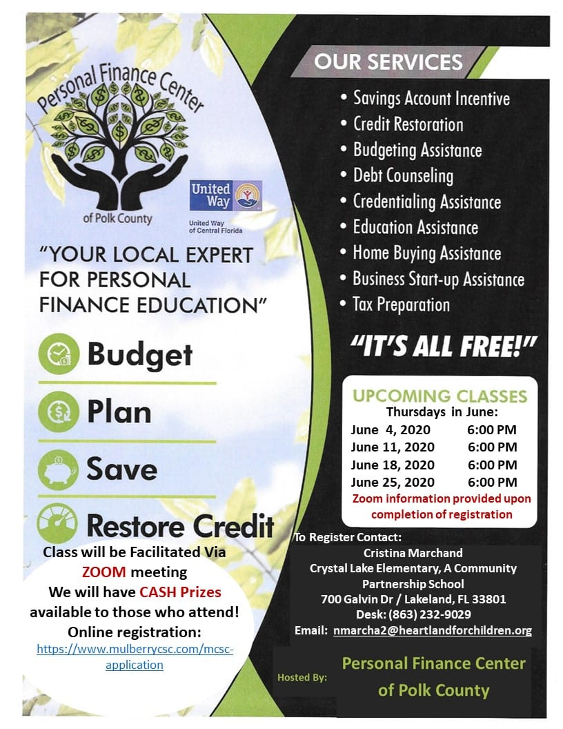 Personal Finance Center of Polk County