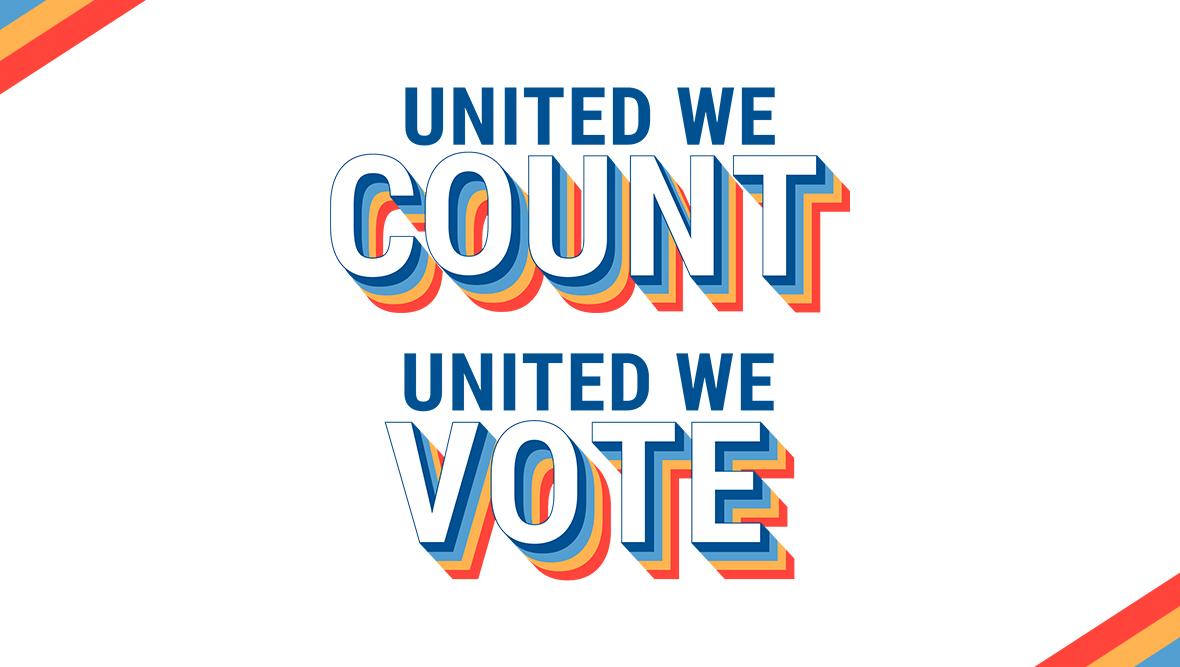 United We Count. United We Vote.