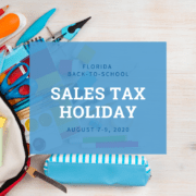 Florida Sales Tax Holiday