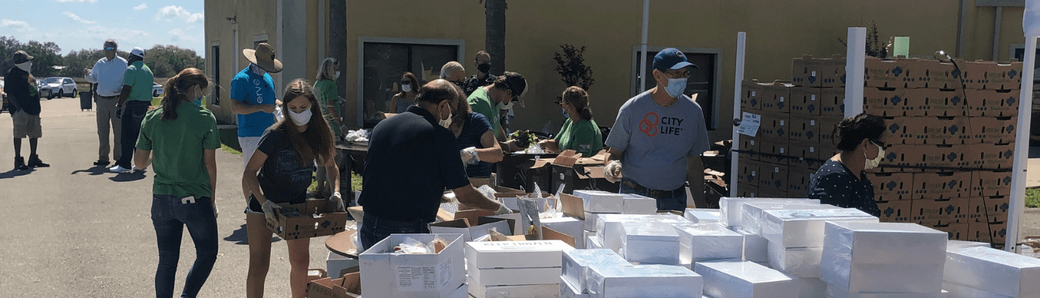 Highlands County Food Drop