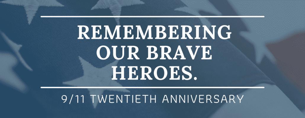 9/11 remembrance 20th anniversary
